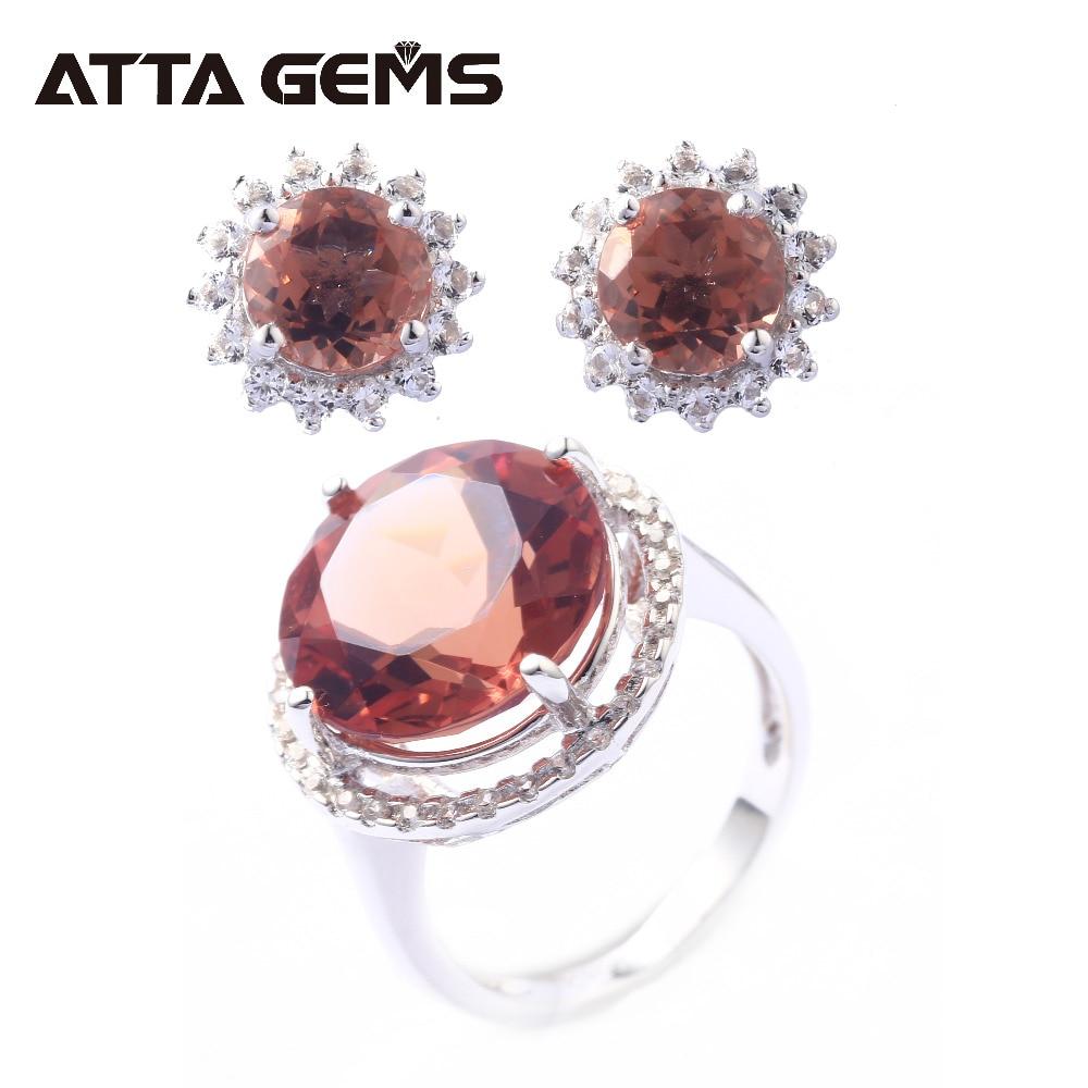 Zultanite Sterling Silver Ring Earring for Women 11 2 Carats Created Zultanite Jewelry Set Women Wedding