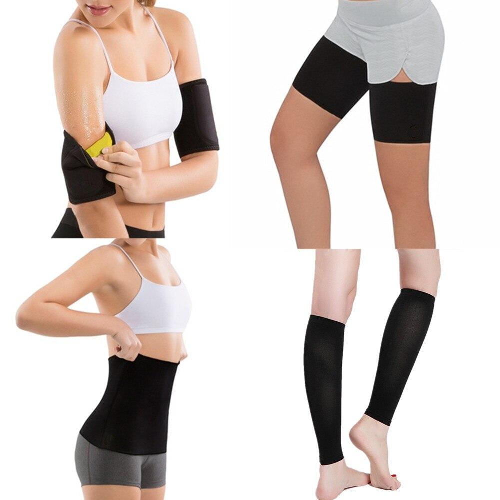 Zwart Taille Trainer Korsetten Riem Hot Body Shaper Vrouwen Shapewear Afslanken Dij Riem Sauna Been Zweten Gewichtsverlies Armen Fitness Voor Een Soepele Overdracht