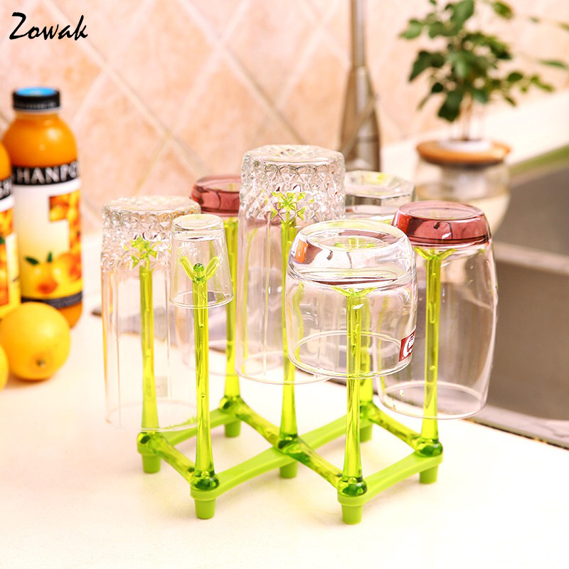 Baby Feeding Bottle Rack Drying Nipple Stand Cup Storage