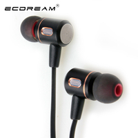 ECDREAM Wireless Earphone Fashion With Microphone Bluetooth Hands Free Earbuds For TV Smartphone Laptop Apple Xiaomi