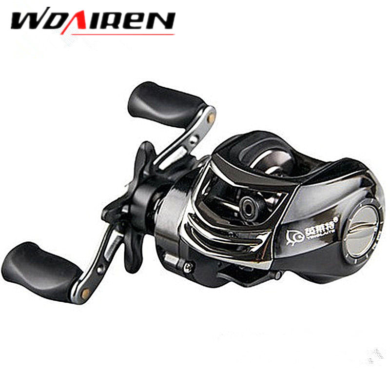 High Speed 6.3:1 Baitcasting Reel 10+1 BBs Top Quality Drag Power 6 KG Right/Left Handed FIshing Reel YLT-1 top high speed full teeth piston