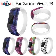 цена 5colors Soft Wrist Bracelet Band Strap Holder for Garmin VivoFit Jr/for Garmin VivoFit JR 2 JR2 Junior Activity Tracker wear онлайн в 2017 году