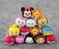 Tsum tsum Tsum Tsum 10 Unids/lote plástico duro 3.8 CM Mickey Donald Winnie Pato Juguetes Lindo Muñeca Duende Juguete de Baño Para Chirldren regalo