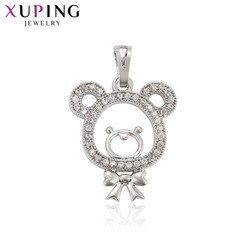 Xuping Fashion elegancki naszyjnik w kształcie zwierząt Party naszyjnik wyrażający Temperament wisiorek dla kobiet Top sprzedaż świąteczna biżuteria upominkowa 33222