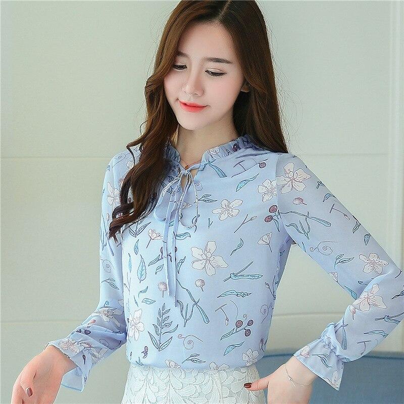 women blouses shirts woman blusas tops 2019 summer office work long sleeve ruffles elegant shirt blouse womens Plus size white 7
