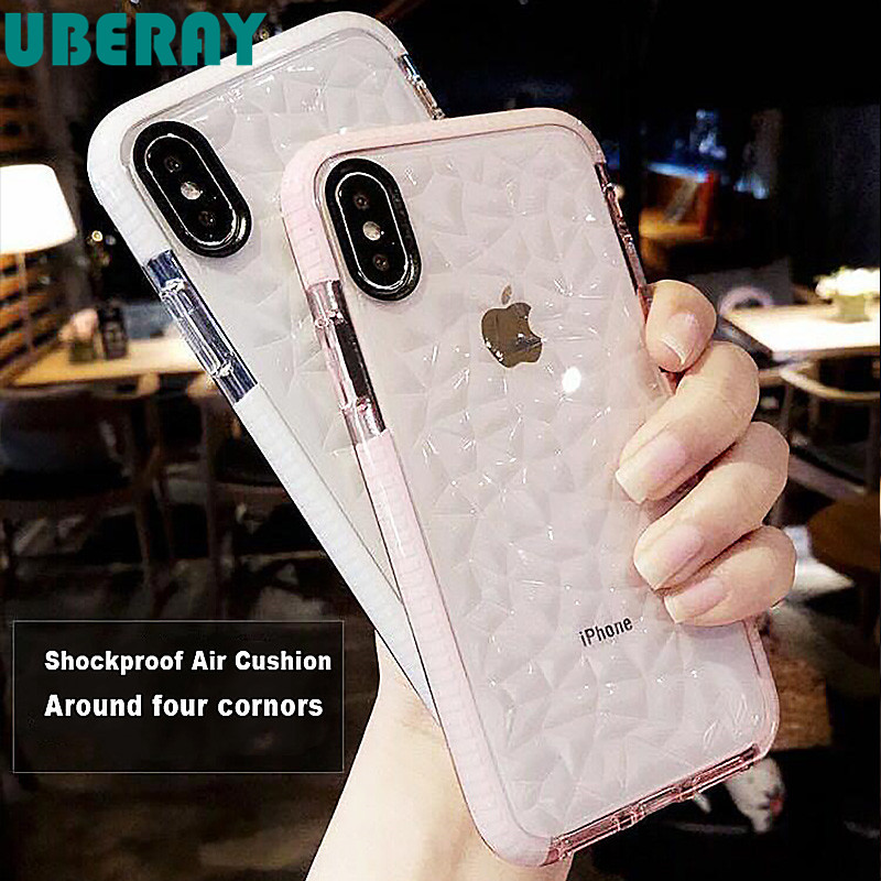 High Quality Soft Silicone Shockproof Cover Protector <font><b>Case</b></font> for Apple iPhone 7 Plus X 8 6 s 7Plus Coque Funda Clear 360 <font><b>Bumper</b></font> image