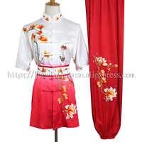 จีน wushu เครื่องแบบ Kungfu เสื้อผ้าศิลปะการต่อสู้ demo ชุด taolu เครื่องแต่งกาย changquan ชุดผู้ชายเด็กผู้หญิงเด็ก