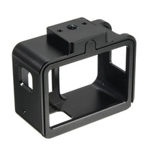 Black Aluminum Alloy Protective Case Housing Shell Cage Frame for Gopro Hero 5 Action Sports Camera Durable Quality