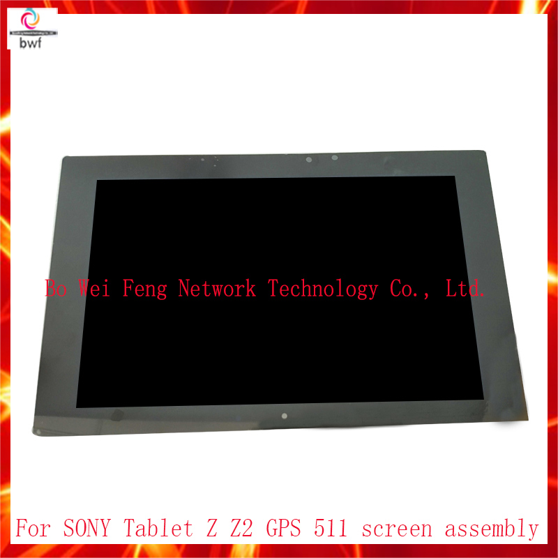 High Quality For sony Xperia Z2 Tablet 10.1 SGP511 SGP512 SGP541 LCD Display Touch Screen Digitizer Assembly Free Shipping high quality 6 44 for sony xperia z