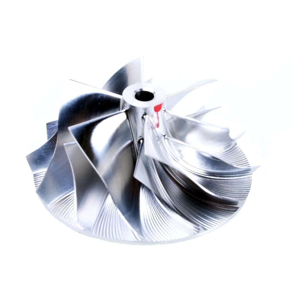 Kinugawa Turbo compresseur roue 35.57/46mm 6 + 6 pour BMW N54 535i 535i 735i TD03-10T