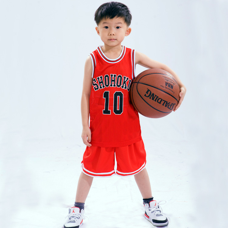 official photos 26541 4eb27 Kids basketball clothes Jersey and Shorts set basketball ...