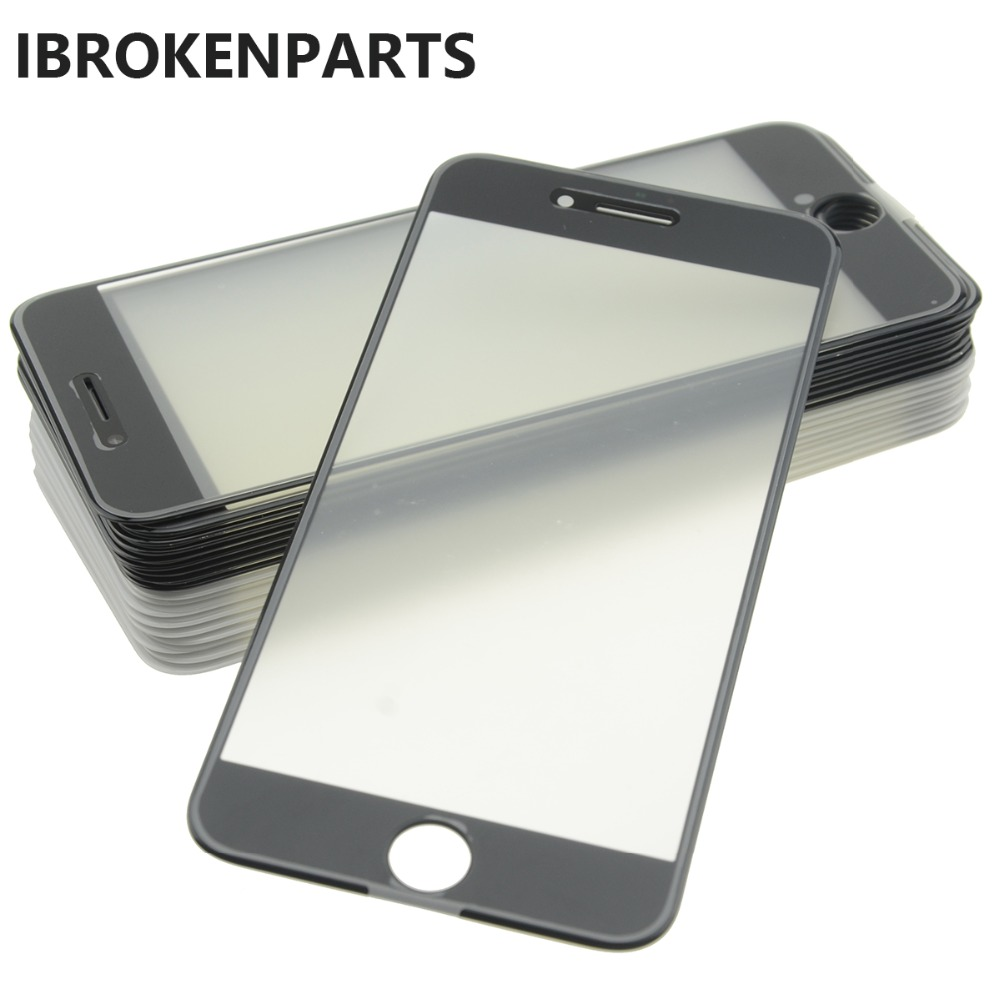 10X lot quality BLACK iPhone 6//6S PLUS replacement lcd front outer screen glass