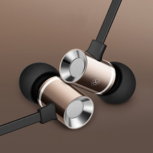 In-Ear Micro Metal Earphone Headset Mini Ear Bass Earbuds Stereo Sport Headphone for Phone Xiaomi Samsung Apple iPhone 7 6 5 4