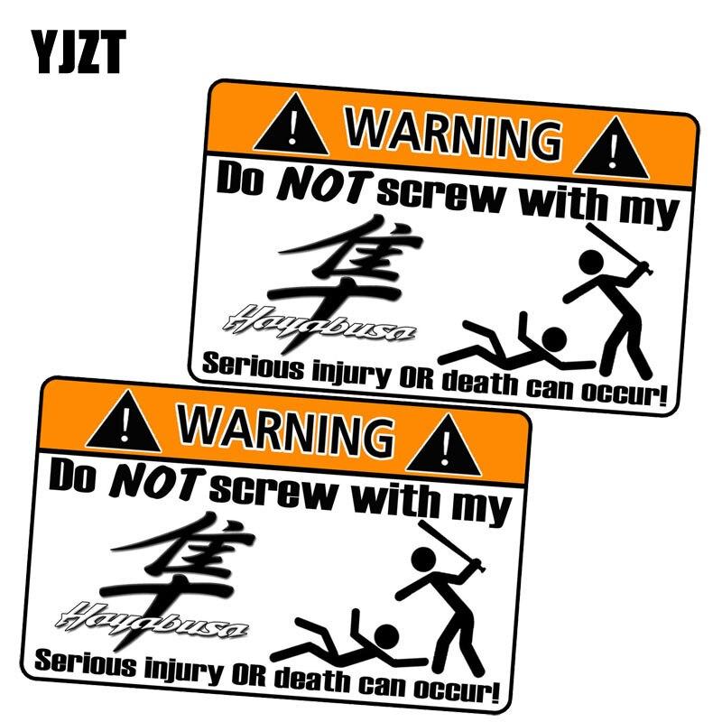 Yjzt 10.2 см * 6.5 см 2x личность автомобиль Стикеры предупреждающий знак lnterest окна автомобиля светоотражающие Стикеры c1-7167