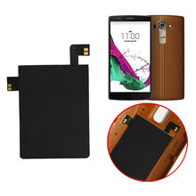 For Drop Shipping 2018 New Develop Wireless Charging Sticker Receiver Qi with Nfc Ic chip for LG G4 portable charger(China)