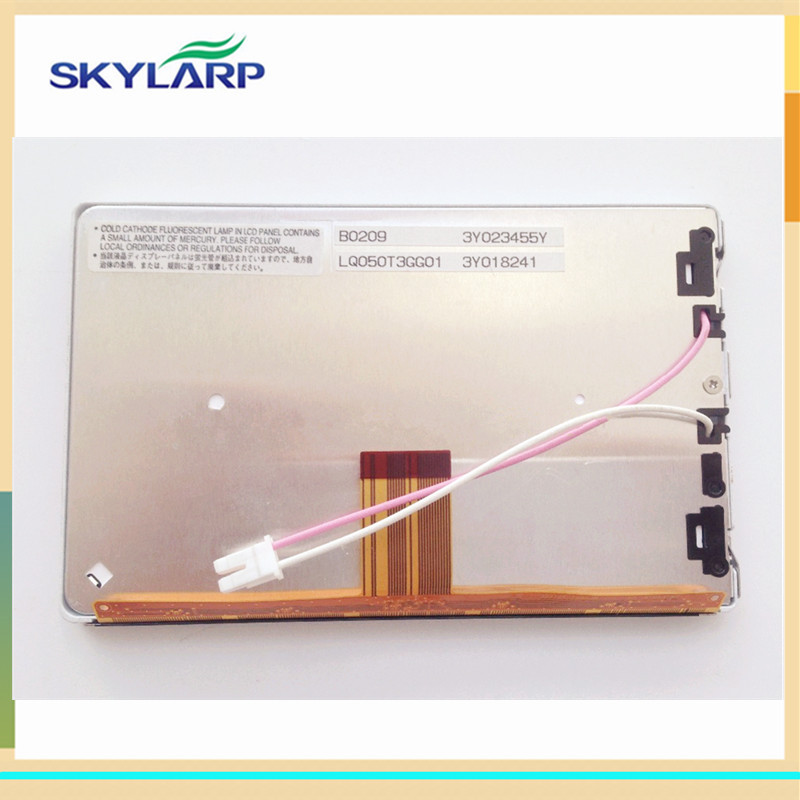 skylarpu 5 inch LCD screen for LQ050T3GG01 CAR LCD screen display panel (without touch) 8 inch lcd screen for hj080ia 01e m1 a1 32001395 00 ips display panel screen without touch