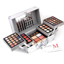 MISS ROSE Brand Professional Makeup Cosmetic Matte Shimmer Eyeshadow Palette Concealer Lipstick Concealer Make Up Face Kit Box
