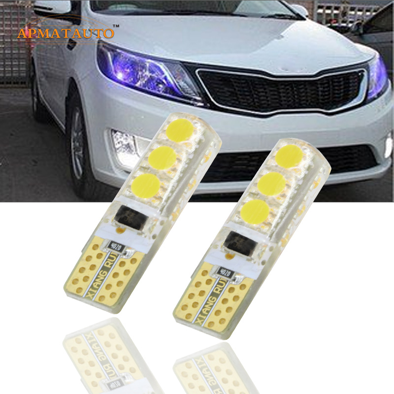 2 x T10 W5W 12V LED светлинен индикатор за светлинен индикатор за осветление на лампата за Kia Rio K2 Ceed K3 K5 RIO FORTE SPORTAGE CERATO CARENS SORENTO