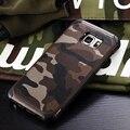 Военный Камуфляж Жесткий Противоударный Case Для Samsung Galaxy S7 S6 Edge Plus камуфляж Крышка Для Samsung Note 4 5 A3 A5 A7 J5 J7 2016