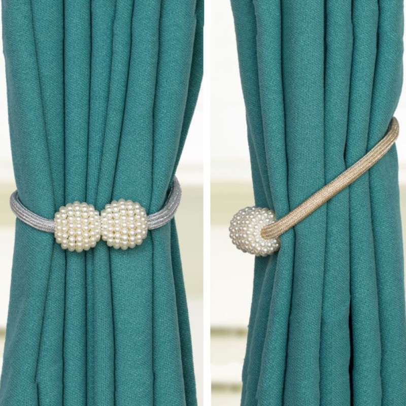 new magnetic curtain tie backs zinc