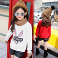 4 5 6 7 8 9 10 11 12 13t Girls Shirts Plus Velvet Winter Girl T Shirt Cartoon Warm Infants Clothing Bottoming Shirts Children's