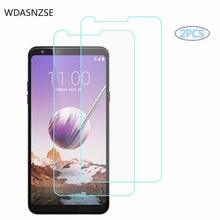 2-Pcs  9H Hardness Tempered Glass Mobile Phone Protective Film for LG Stylo 4 Screen Protector