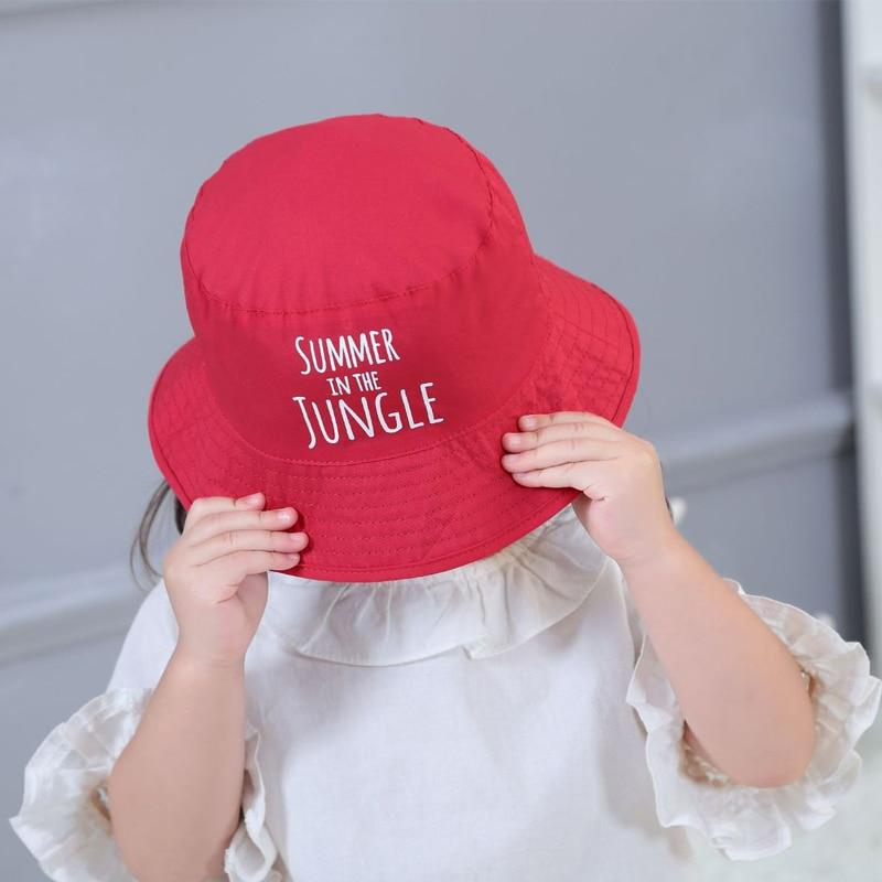 Baby favoriete kinderen roze zachte mooie baby meisjes hoed zomer - Babykleding - Foto 3