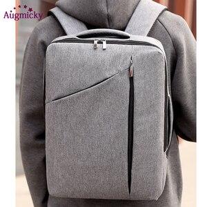 Image 3 - Anti Diefstal Multifunctionele Mannen 15.6Inch Laptop Rugzakken Voor Tiener Mode Mannelijke Stedelijke Rugzak Mannelijke Reizen Business School Tassen