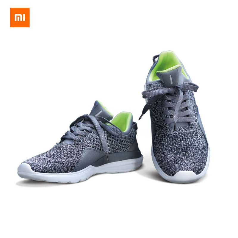 2017 New Original Xiaomi FreeTie Smart Running Sneakers Shoes Bluetooth 4.0 Engl