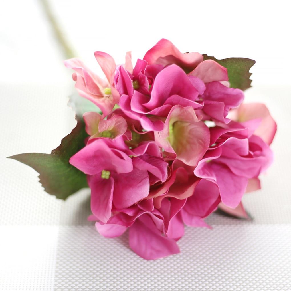 ᐅHydrangea Wedding Flower Silk Artificial simulation Flowers Home ...
