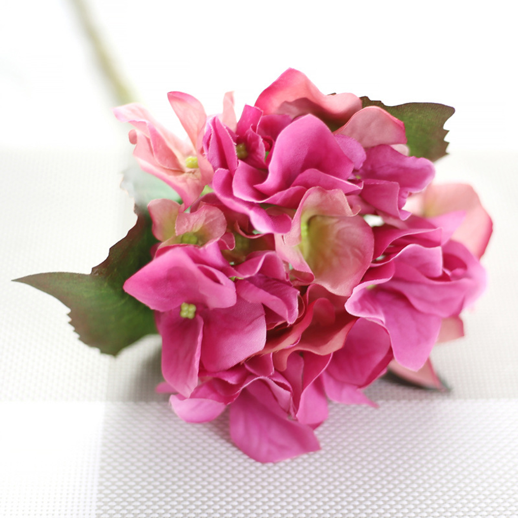Hydrangea Wedding Flower Silk Artificial simulation Flowers Home Garden Decor