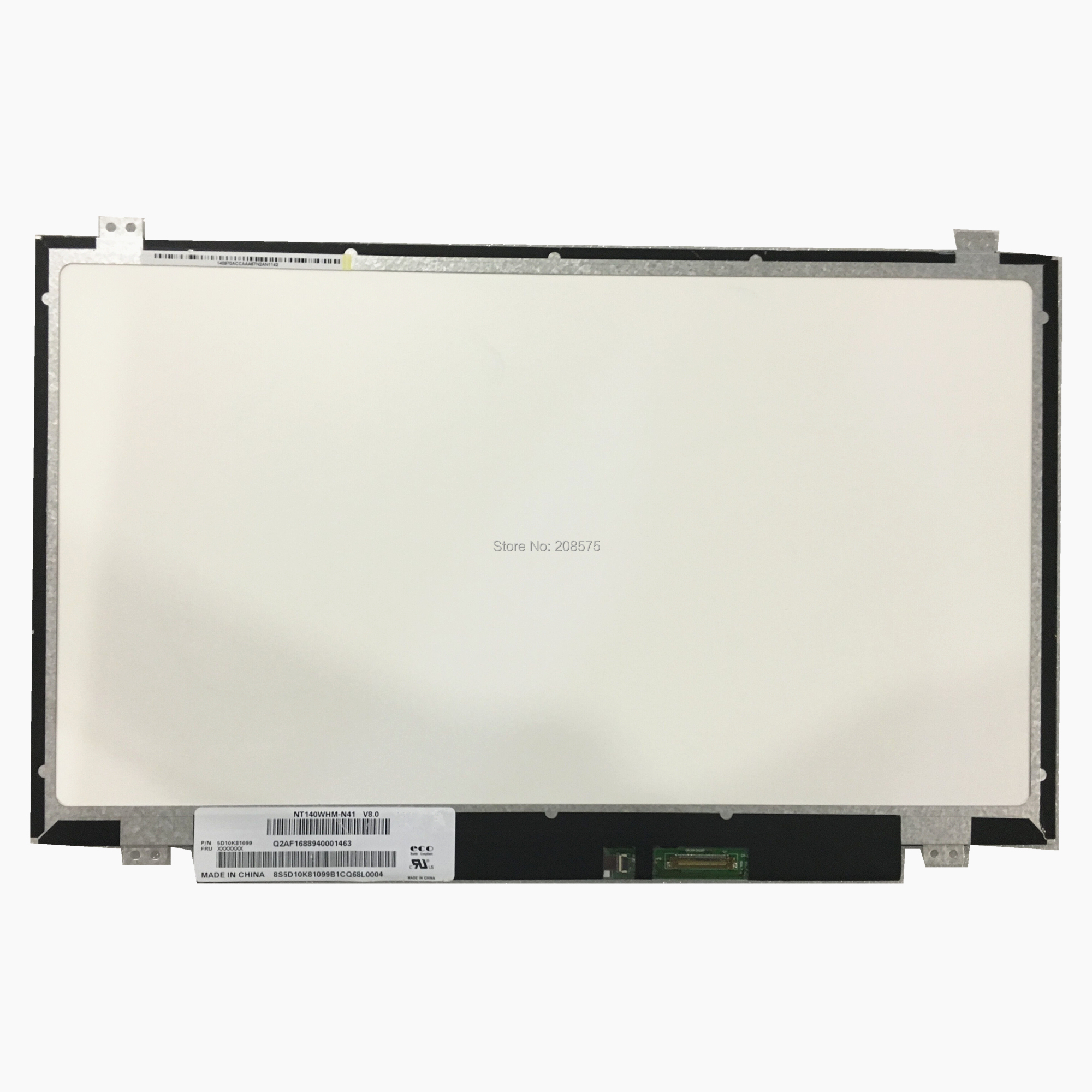 Free shipping NT140WHM N41 NT140WHM N31 LP140WH8 TPC1 LP140WHU TPD1 TPE1 N140BGE EA3 Laptop Lcd Screen