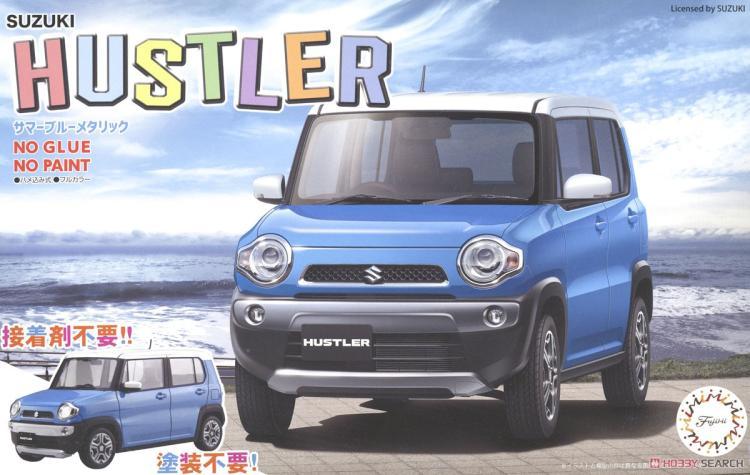 1/24 Suzuki Hustler Suzuki D'été Bleu 06602