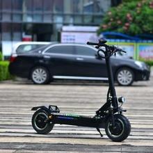 """Высокая мощность 1"""" 3200 Вт/60 в складной электрический мотоцикл Ebike скутер с сиденьем двойной двигатель двигателя P1"""