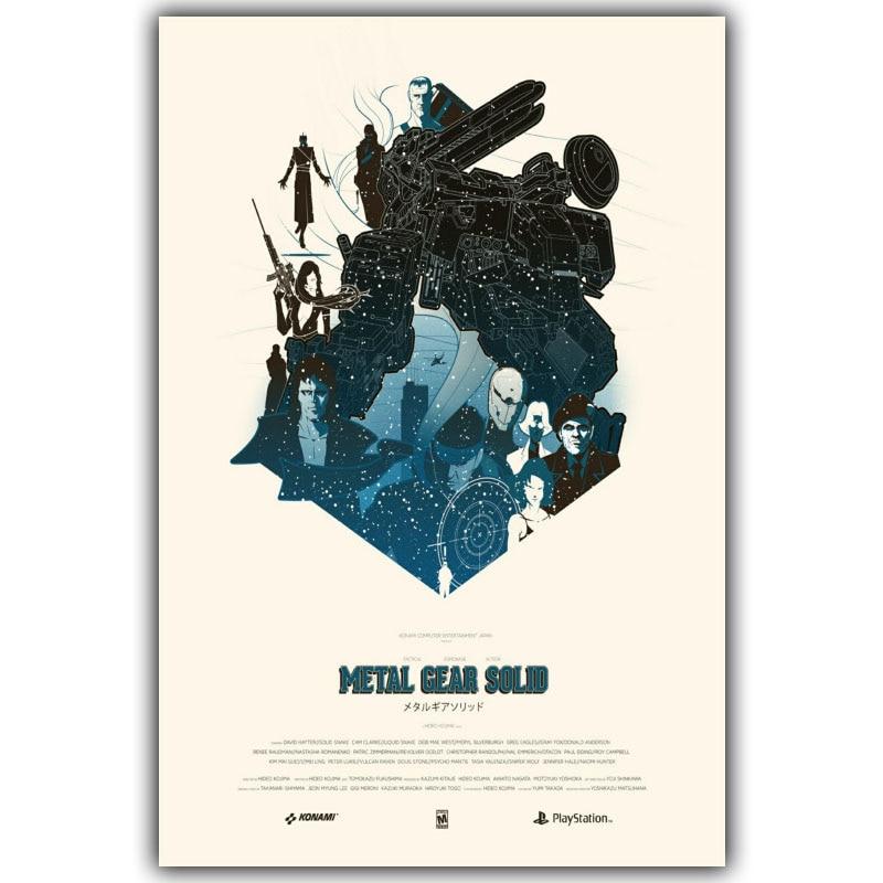 Metal Gear Solid V The Phantom Pain Poster Art Decor 003