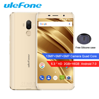 Ulefone S8 Pro Smartphone Android 7 0 MT6737 Quad Core 1 3GHz 2G RAM 16G ROM