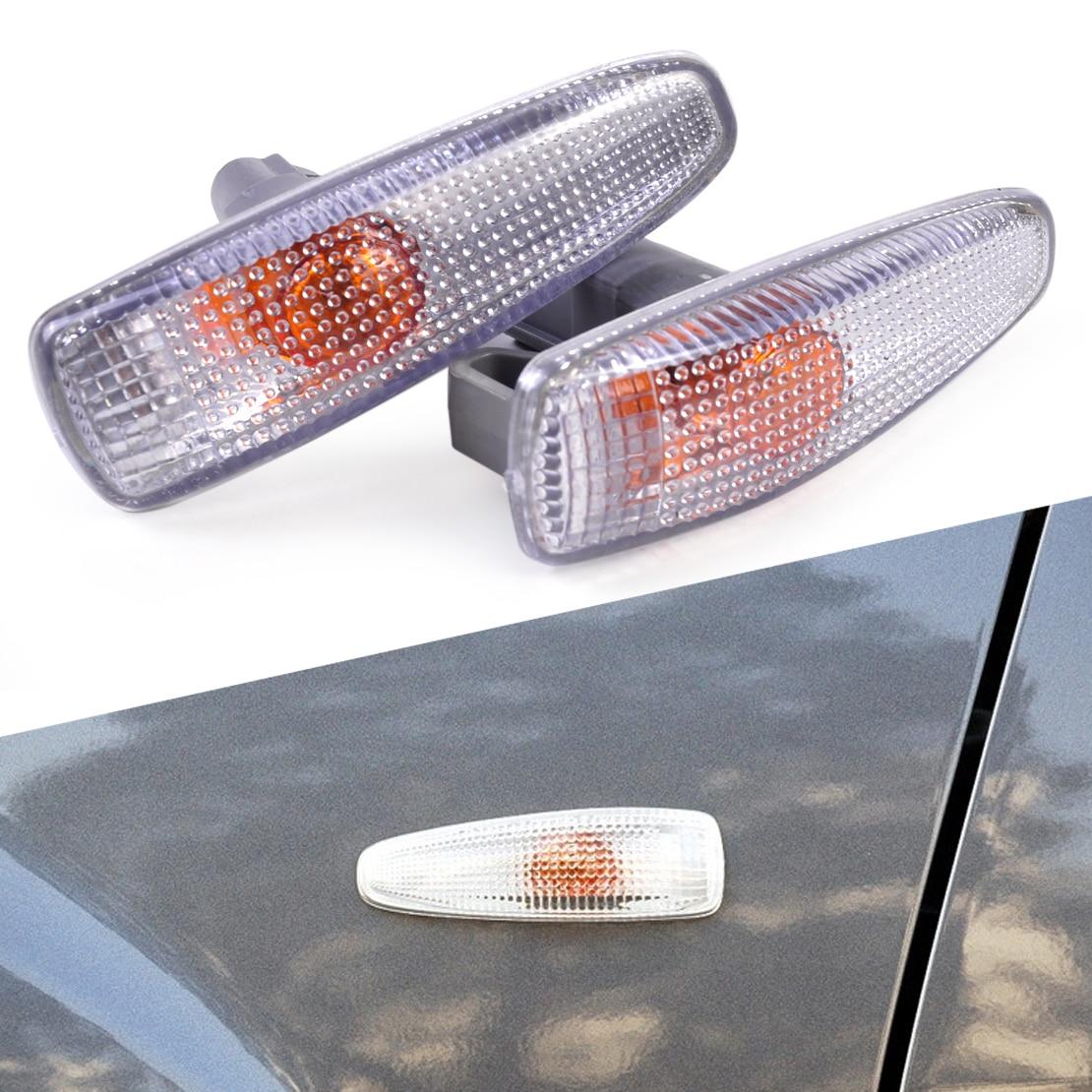 DWCX 8351A047 2pcs Turn Signal Lamp Lights Fender Side for Mitsubishi Lancer 2008 2009 2010 2011 2012 2013 2014
