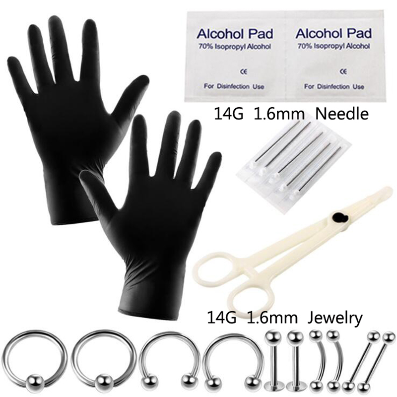 top 10 body piercing accessory tool list and get free shipping