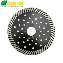 DIATOOL Diamond Hot Pressed Superthin Diamond Turbo Blade for Cutting Granite Marble Concrete Masonry diatool 2pcs 300mm vacuum brazed diamond blade for all purpose for stone iron steel 12 demolition blade