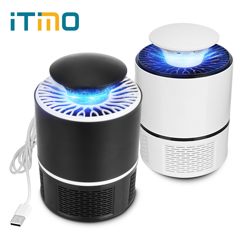 ITimo Electric Anti Trap Lamp Mosquito Killer Light Fly Bug Zapper Insect Repeller LED USB Photocatalyst Mosquito Killer Lamp