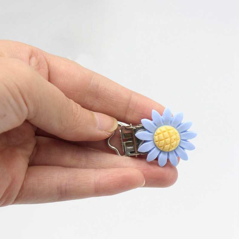 Bebek Bakımı Çocuk Bebek Bebek Emzik Askı Klipler Tutucu Çiçek Yatıştırıcı Kukla Meme