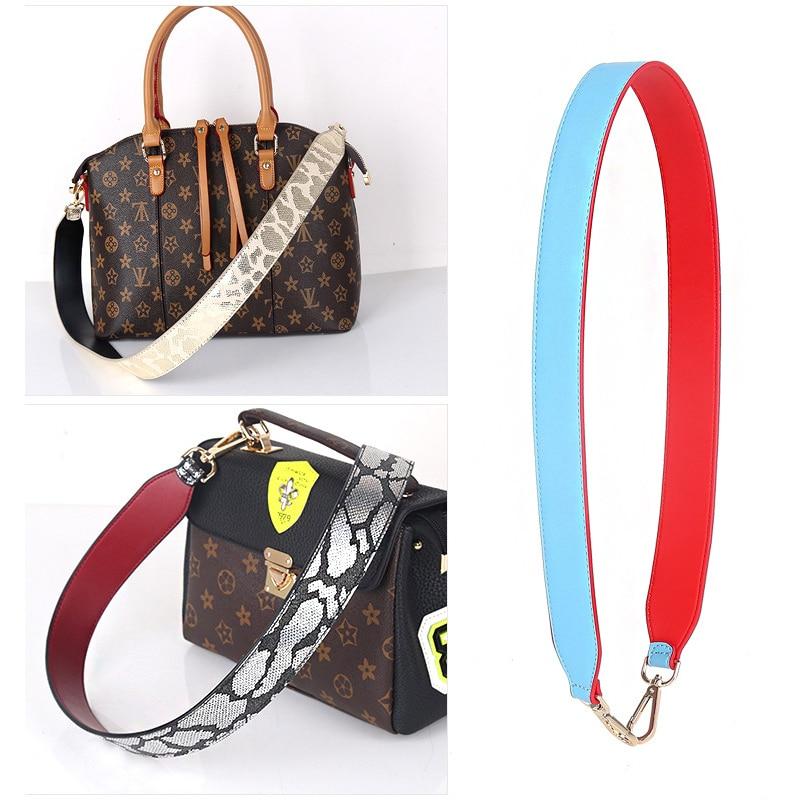 90*4cm Wide Luxury Brand Strap You Genuine Leather Women Shoulder Messenger Bag Strap Accessories For Handbags Handles KZ151301