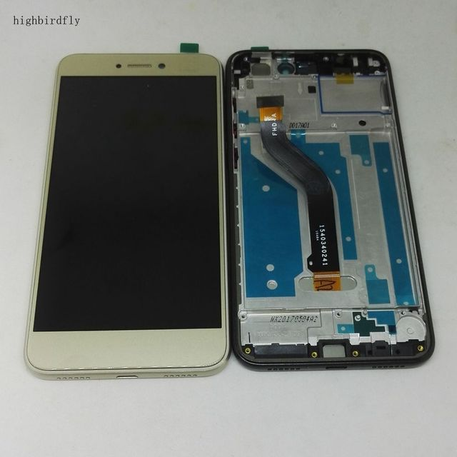For Huawei P9 Lite 2017 Pra-Lx3 Pra-Lx1 Lcd Screen Display WIth Touch Glass Dgitizer +Frame Assembly Replacement