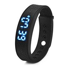H5S Спорт Смарт Браслет Монитор Сердечного ритма Смарт-Наручные Часы LED Smartwatch Фитнес-Трекер Браслет Здоровья для Android