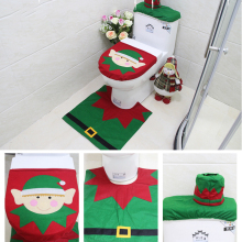 Amazing Christmas Toilet Set