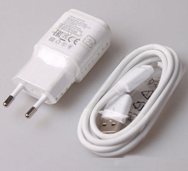 Caricatore della parete Micro USB Caricabatterie Da Viaggio PER LG G3 D855 F460 G2 F260 Nexus 5 E980 1.8A Bianco DELL'UE