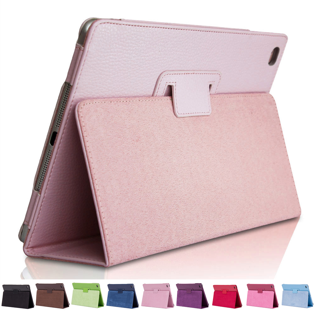 For iPad 9.7 inch 2017/2018 Case for iPad Air 1/2 Cover Ultra Slim Flip PU Leather Magic Smart Case with Stand Holder(China)