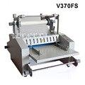 A3 Steel Rod Film Laminator Manual Feeding Hot Roll Laminating Machine V370FS Laminating Machine Max Width 370mm 1800W 220V