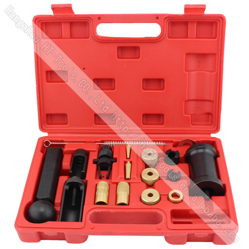 18 Piece FSI Injector Puller Set Injector Service Tool Kit for Audi Vw Engines Diesel батарея csb gp1245 12v 4 5ah