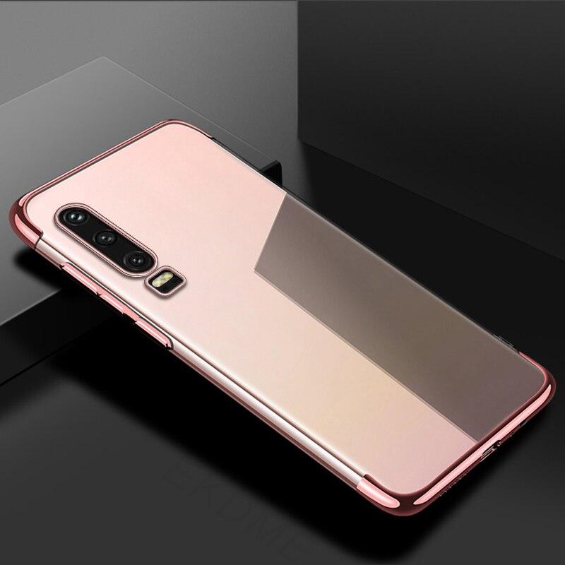 For-Huawei-P30-P20-Lite-P20-Pro-Y7-Y6-Pro-Y9-2019-Case-Soft-Silicone-Plating RTYUTR